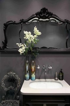 Image result for gothic bathroom ideas