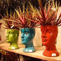 Ceramic Head Planters