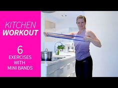 Kitchen workout – 6 övningar med miniband | Sportamore