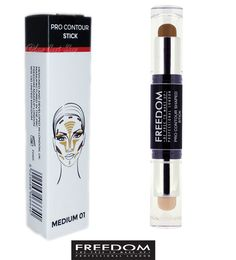 Freedom Makeup Pro Cream Contour Shaped Stick Medium 01 Contouring Stick