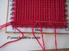 Weaving Art, Clothes Hanger, Loom, Knitting, Diy, Barcelona, Carpet, Molde, Home