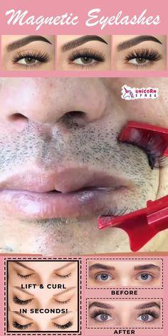 Eye Makeup Art, Eye Makeup Tips, Eyebrow Makeup, Skin Makeup, Beauty Care, Beauty Skin, Beauty Makeup, Hair Beauty, Magnetic Eyelashes