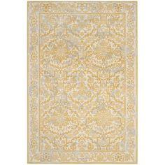 Safavieh Evoke Ivory/ Gold Rug (8' x 10') | Overstock.com Shopping - The Best Deals on 7x9 - 10x14 Rugs
