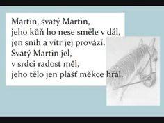 Martinská slavnost - Martin, svatý Martin Martini, Advent, Creativity, Education, Training, Martinis, Learning