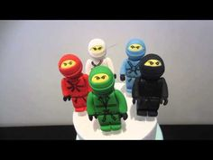 Ninjago Cake Figurines Topper - how to tutorial preview
