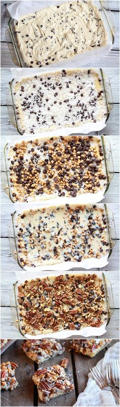 Seven-Layer Velvet-Crumb Bars Recipe
