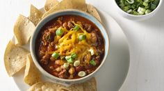 Chunky salsa adds extra flavor to this oh-so-good slow-cooker chili.