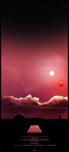 Star Wars Binary Sunset Poster i made this one the weekend, was ...