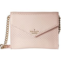 Kate Spade New York Lilac Street Dot Monday ($168) ❤ liked on Polyvore featuring bags, handbags, shoulder bags, ballet slipper, shoulder strap bag, flap crossbody, foldover crossbody, kate spade shoulder bag and kate spade purses