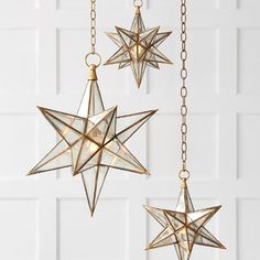 Apparently, the Moravian stars were originally created as a geometry lesson for boys who attended the Moravian School in Germany and in the early century, Star Pendant, Mini Pendant, Moravian Star Light, Antique Mirror Glass, Star Decorations, Visual Comfort, Room Inspiration, Pendant Lighting, Bedroom Decor
