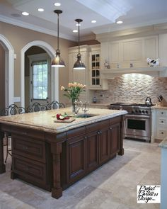 Creamy Kitchen - traditional - kitchen - chicago - Project Partners Design, Inc.
