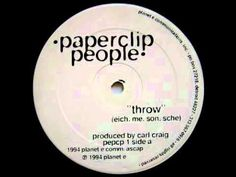 """Paperclip People - """"Throw"""" (1994). This is a long, but good one..."""