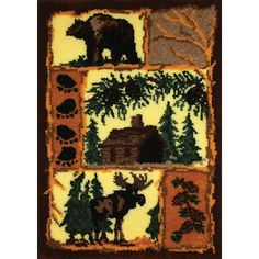 My favorite source for arts and crafts: Woodland Latch Hook Rug Kit Renaissance, Home Crafts, Arts And Crafts, Kunsthistorisches Museum, Latch Hook Rug Kits, Rug Yarn, Statue, Rug Hooking, Fun Projects
