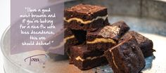 These #Chocolate #GoatCheese #Brownies deliver the perfect hit of chocolate and a special flavor burst thanks to the goat cheese! Moist and oh-so-good. Bake up a batch for #Easter #dessert! #eatclean #eatcleandiet #eatingclean #cleaneating #toscareno #cheese #treat #brownie #treat