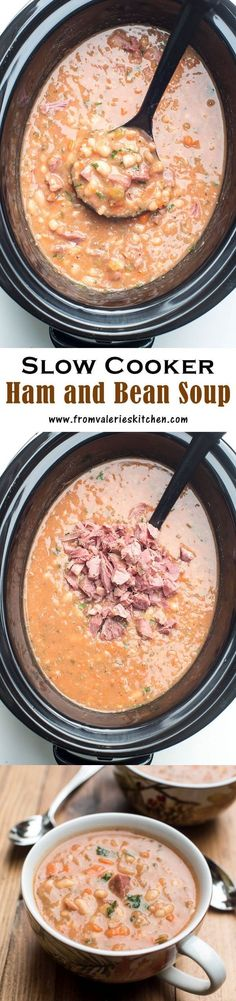 1 Meaty ham bone. 2 Bay leaves. 2 Carrots. 3 stalks Celery. 1 tbsp Garlic. 1 lb Great northern or navy beans, dry. 1 Italian (flat leaf parsley, fresh. 1 tsp Thyme, dried. 1 cup White or yellow onion. 5 cups Chicken broth, low-sodium. 1 tsp Mustard, dry. 1 (8 ounce can Tomato sauce. 1 tsp Black pepper, freshly ground. 1 tsp Salt. 1 Water.