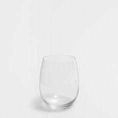 Imagen del producto Vaso redondeado vidrio