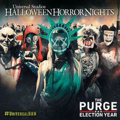 The Purge: Election Year Scare Zone at Universal's HHN 2016!