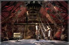 Hamlet by William Shakespeare Set Design by Richard Finkelstein, Stage Designer