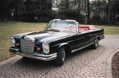 1965 Mercedes Benz convertible