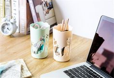 1 Pc Plush Toy Pen Container Brush Pot Circular Hollow Out Deer Tubular Penrack Pencil Vase Tubular Penrack Pen Container  http://playertronics.com/product/1-pc-plush-toy-pen-container-brush-pot-circular-hollow-out-deer-tubular-penrack-pencil-vase-tubular-penrack-pen-container/