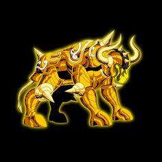 Armadura de ouro de Touro
