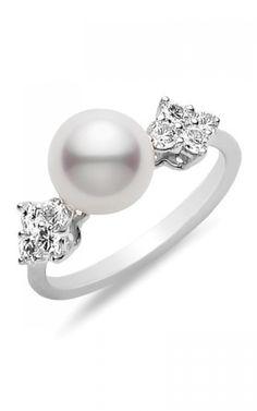 Mikimoto Fashion Rings | Item #: PRA 884D W