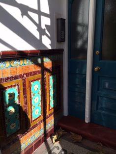 Grove Mansions - entrance tiles