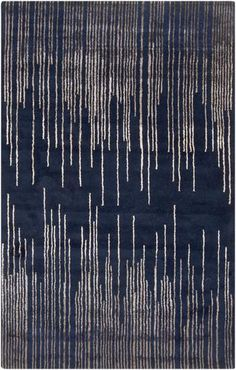 Naya Navy & Taupe Rug design by Surya Modern Area Rugs, Contemporary Area Rugs, Wool Area Rugs, Blue Area Rugs, Wool Rugs, Yellow Carpet, Navy Rug, Transitional Rugs, Frames