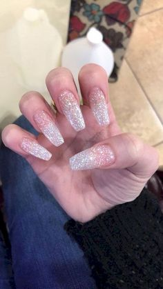 In search for some nail designs and some ideas for your nails? Here is our set of must-try coffin acrylic nails for trendy women. Aycrlic Nails, Prom Nails, Long Nails, Cute Nails, Short Nails, Wedding Nails, Long French Tip Nails, Long Nail Art, Oval Nails