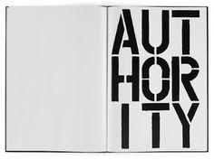 Christopher Wool, Black Book, 1989