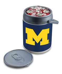 Take a look at this Michigan Can Cooler by Tailgate Essentials Collection on #zulily today!
