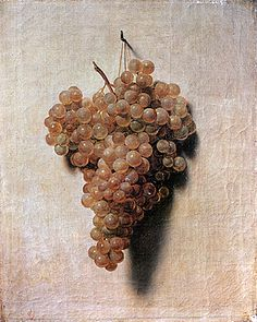 Grappe de raisin en trompe l'oeil, Louis Leopold Boilly