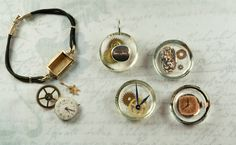 jewelry with resin - Google Search