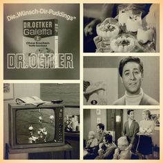 "Dr. Oetker TV-Spot ""Wünsch-Dir-Puddings"" - Galetta 1968. Oetker Firmenarchiv (OeFA) // #OetkerHistory #Pudding #Dessert Vintage Housewife, Food Advertising, Retro Recipes, Puddings, Memories, Instagram, Frame, Dessert, Inspiration"