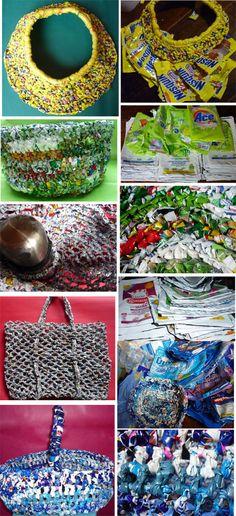 Tejer con bolsas - tehagobolsa.blogspot.com - Carolina Agostino