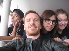 Michael Fassbender with fans at SDCC 2015