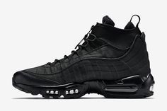 nike air max 95 sneakerboot trainers in black nz
