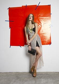 Kitschen salutes stars, stripes and tribal.