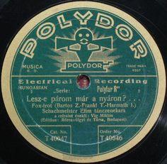 vintage polydor record label