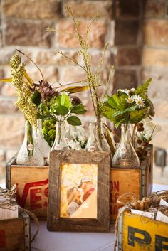 #rustic decor for wedding