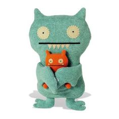 We both think Ugly Dolls are great for kids. We bought this one at Comic-Con this year for our future nursery.