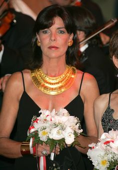 2004 - Caroline at the Monaco red cross ball