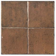Kolekcja Maestranza - płytki podłogowe Maestranza Metal Marron 44,2x44,2
