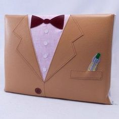 Might upcycle a real jacket to make this laptop sleeve