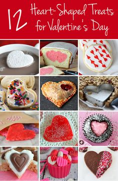 Heart-Shaped Treats for Your Sweetheart on Valentine's Day! via @veryculinary