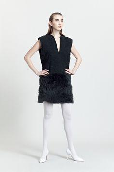 Siloa & Mook AW13: Silva Dress. #siloamook #fashionflashfinland #fashion #fashiondesigner #designer #aw13 #collection #Finland #Helsinki