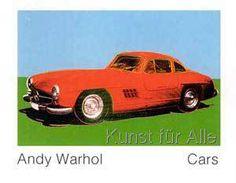 Andy Warhol - Cars, 300 SL Coupé, Bj. 1954