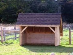 This shed would have lots of rafter storage