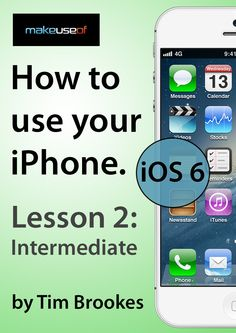 How To Use Your iPhone #2: Intermediate (iOS6)