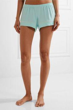 Eberjey - Gisele Stretch-modal Pajama Set - Mint -
